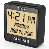 Digital Clock : Simple, Tiny, Ad-free Desk Clock.