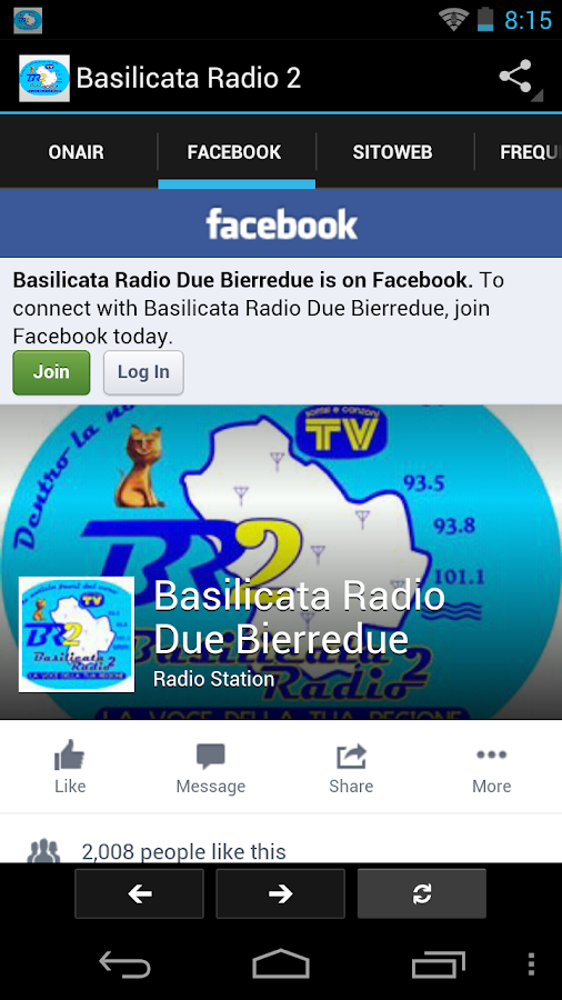 Basilicata Radio 2- screenshot