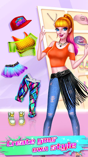 ud83dudc83ud83dudd7aHip Hop Dressup - Fashion Girls Game apkpoly screenshots 3