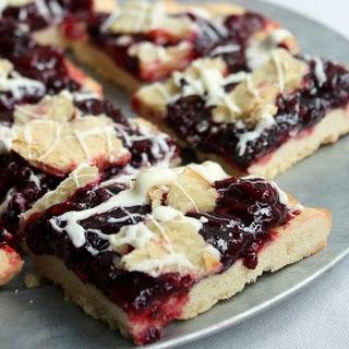 Razzleberry Shortbread Bars