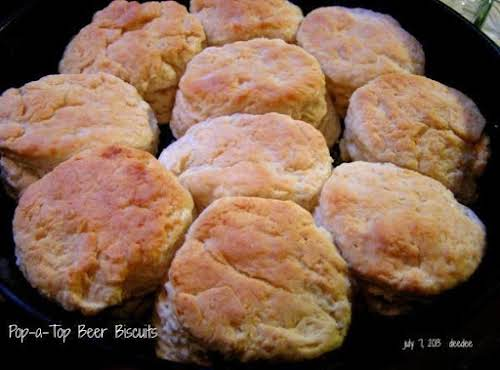 """Pop-a-Top Beer Biscuits """"I made these early this morning for everyone, and..."""