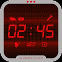 Simple Alarm Clock Xtreme Red – Alarmy icon