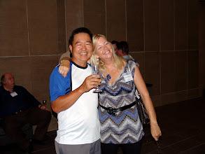 Photo: (RVC MP) Michael Khaw and Toronto colleague Sharon Godlewski