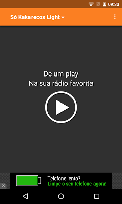 Rádio Só Kakarecos - screenshot
