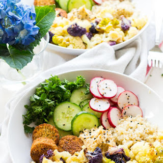 Radish, Falafel & Cauliflower Energy Bowl