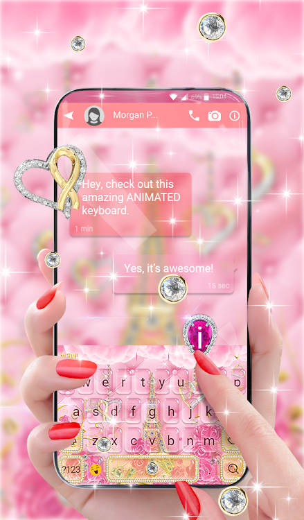 Keyboard Wallpaper For Girls Android Apps Appagg