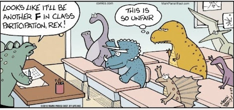 Photo: Awww….poor T-Rex!
