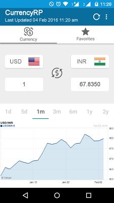 Currency Converter - screenshot