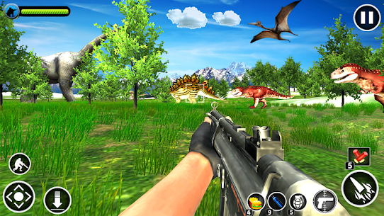 Dinosaur Hunter Free Apk 7