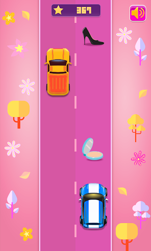 Girls Racing - Fashion Car Race Game For Girls  screenshots 1