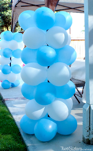 Balloon towers