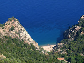 Photo: la plage de Ficaghiola