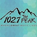 102.7 The PEAK icon