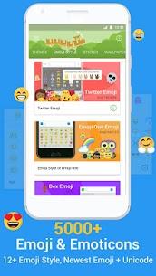iMore Emoji Keyboard – Cool font, Gif & 3D themes 1