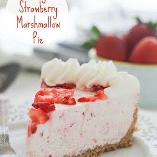 Easy Strawberry Marshmallow Pie Recipe