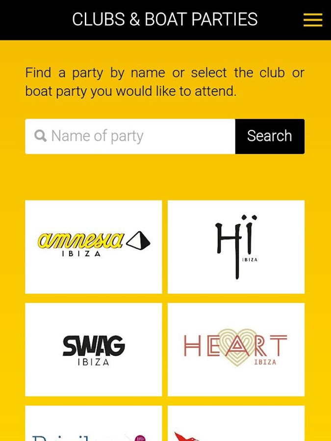 TG Ibiza Tickets & Guest Lists- screenshot