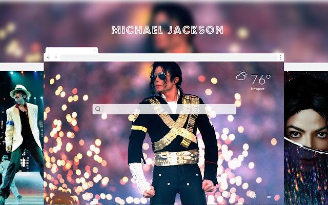 Michael Jackson HD Wallpapers New Tab