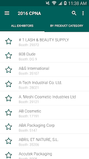 Cosmoprof NA 2016 screenshot