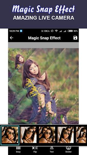 Magic Snap Effect - Photo Editor 1.5 screenshots 4