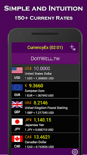 CurrencyEx: Rates Converter- screenshot thumbnail
