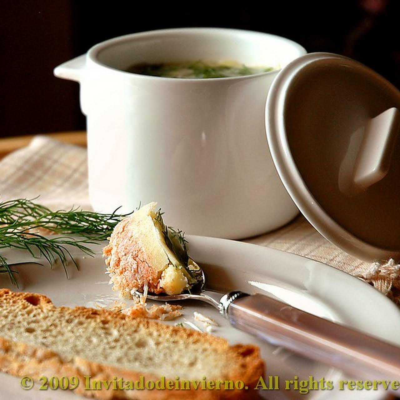 archaic potted crab by Jamie Oliver