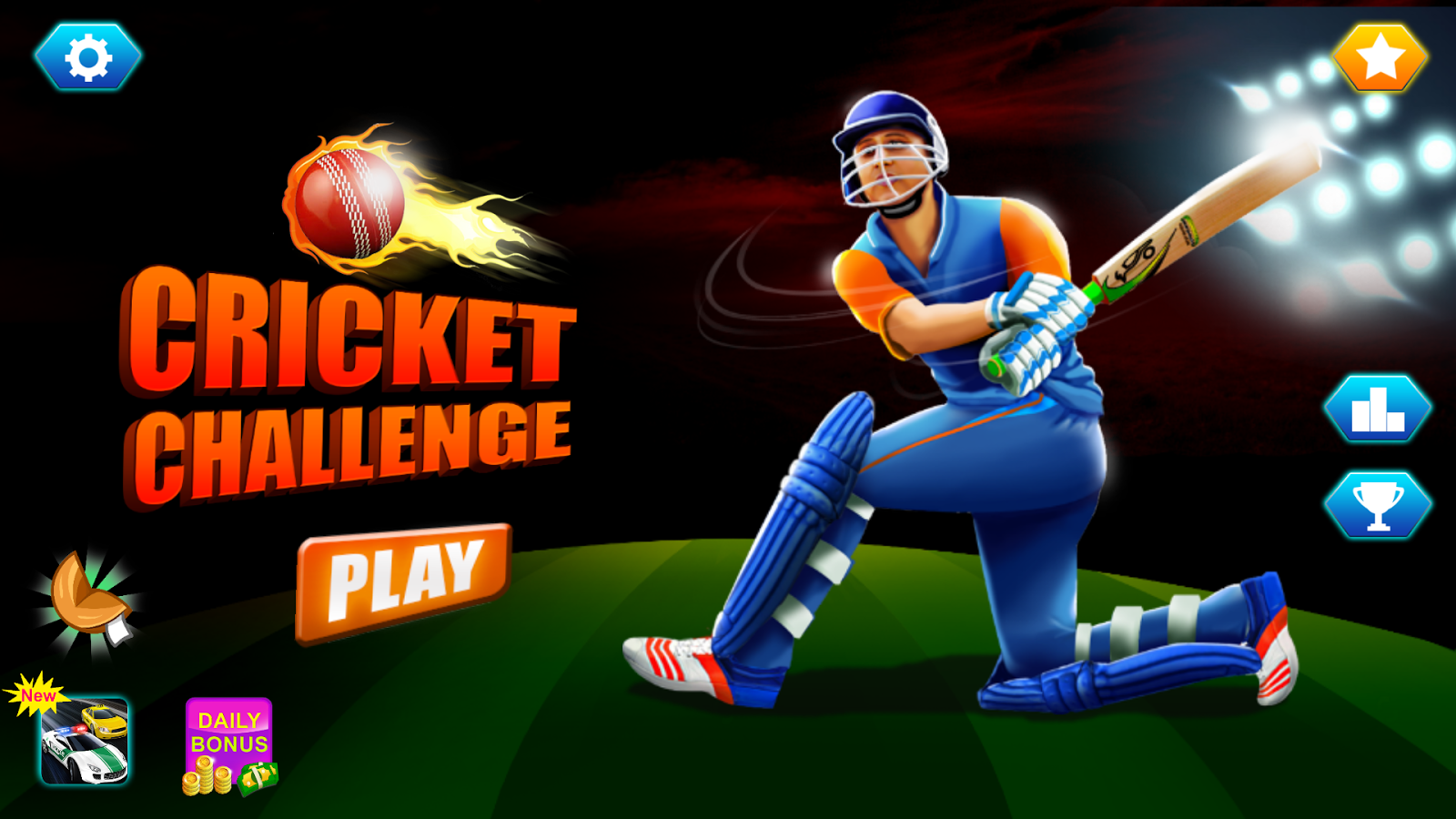 Cricket t20 2017 multiplayer game screenshot