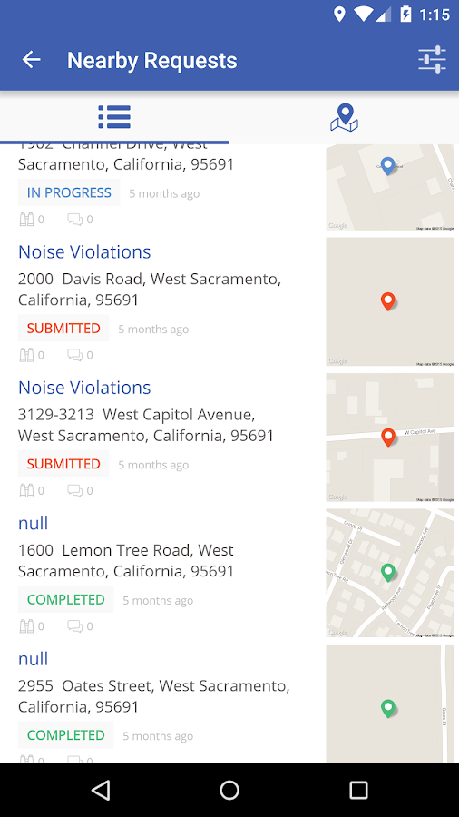 West Sacramento Connect- screenshot