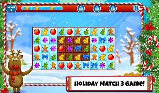 Christmas Sweeper 2 - Free Holiday Match 3 Game- screenshot thumbnail