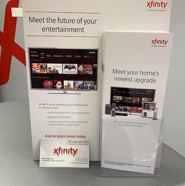 HD-Xfinity Authorized Dealer Kiosk
