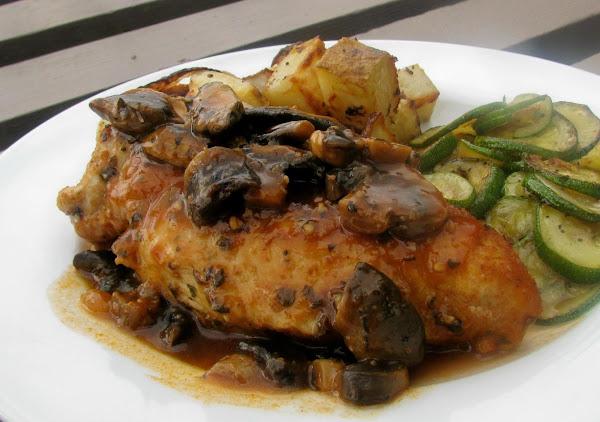 Low Carb Chicken & Mushrooms Recipe