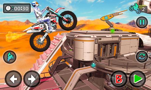 Tricky Bike Stunt Racing Tricks Impossible Tracks screenshots 2