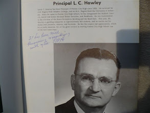Photo: Lewis C.Hawley-Dedication