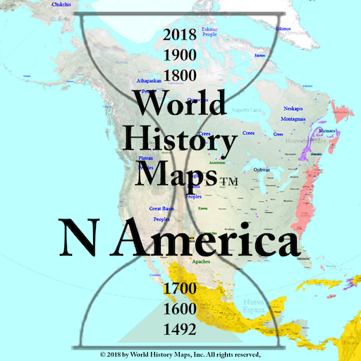 World History Maps: North America - Apps on Google Play on