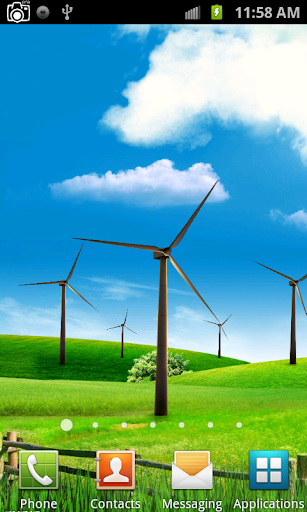 Windmill Live Wallpaper screenshots 1