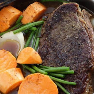 How to Cook a Frozen Beef Roast in the Crock Pot.