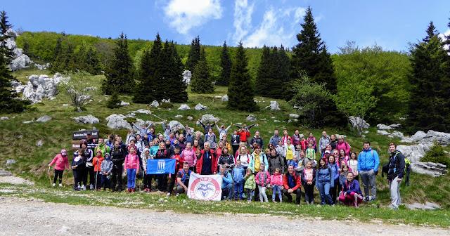 100 djece i roditelja na Zavižanu