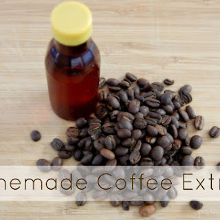 Homemade Coffee Extract.