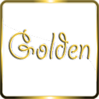 Golden Glass Nova Launcher theme Icon Pack icon
