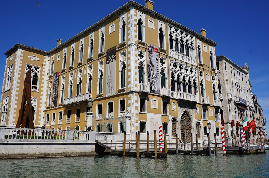 Historical building along the Venetian canal