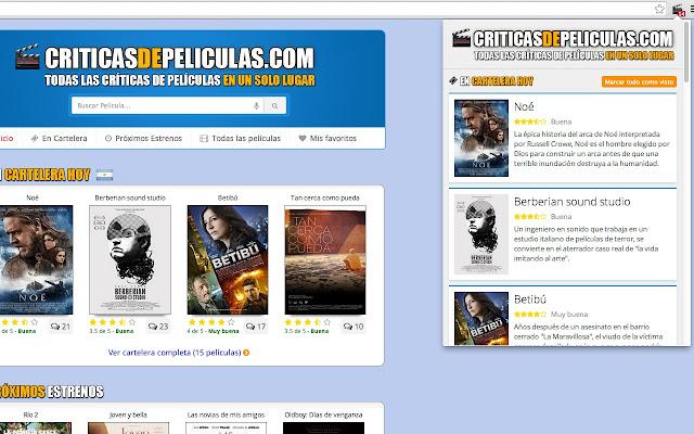 Cartelera de Cine (CriticasDePeliculas.com)