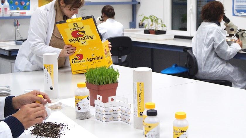Agrobío trabaja para mejora el control biológico de plagas.