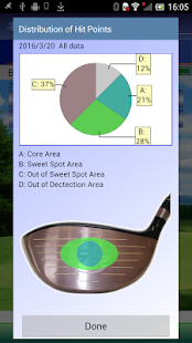 SmartShot digital golf driver- screenshot thumbnail