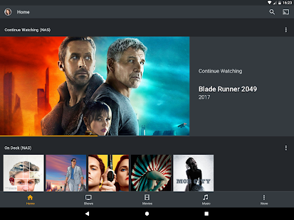 Plex Capture d'écran