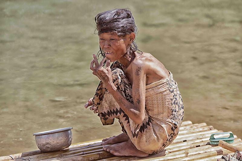 la vita sul lago Inle di antonioromei