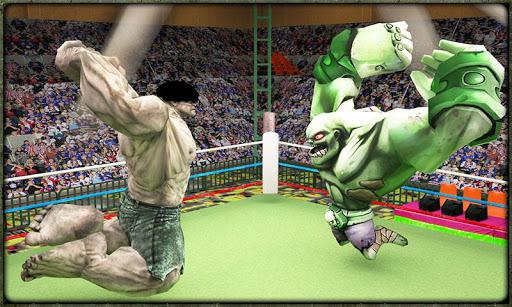 Incredible Monster Superheroes Ring Battle  screenshots 2