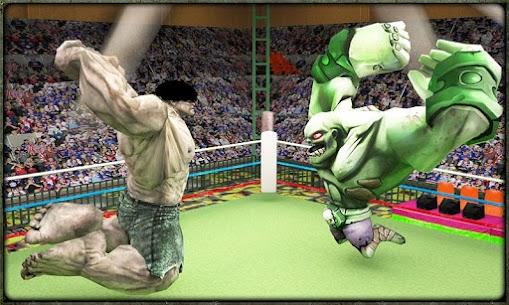 Incredible Monster Superheroes Ring Battle 2