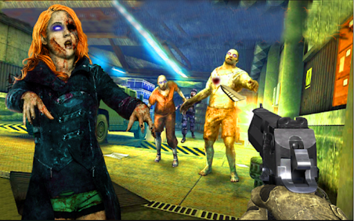 Zombie shooter 3d : Zombie shooting games 1.3 screenshots 1