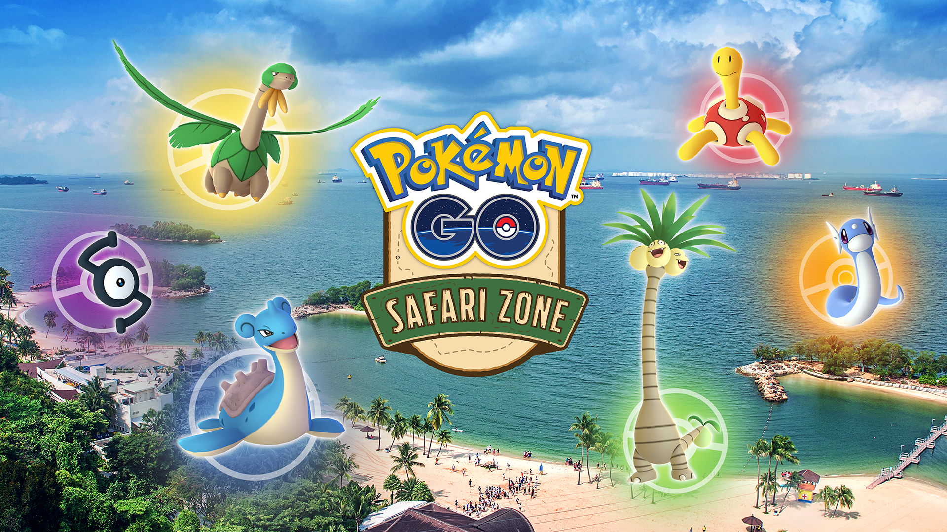 Pokémon GO Safari Zone at Sentosa - Pokémon GO