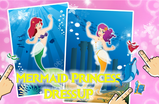Little Mermaid Beauty Dressup