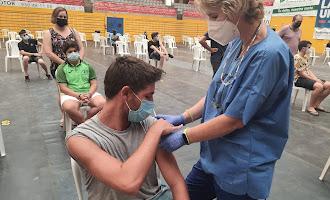 Los adolescentes almerienses también se vacunan